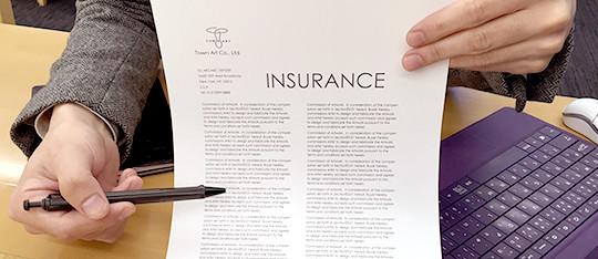 制作時の保険加入