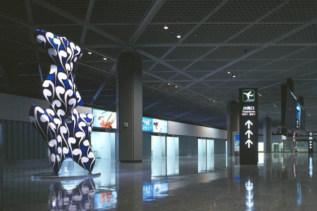 成田国際空港 1PTB 南ウィング / 中村哲也 / 4F出発ロビー