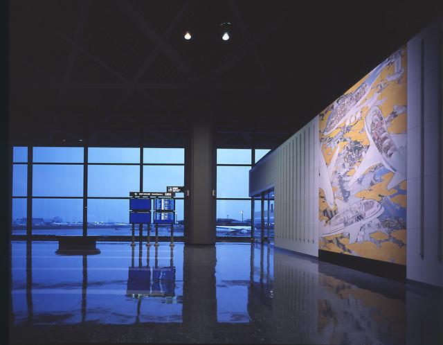 成田国際空港 1PTB 南ウィング / 山口晃 / 4F出発ロビー