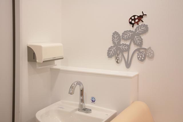 福岡大学病院新診療棟 小児医療センター / ひびのこづえ / 授乳室